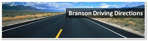 Branson Driving Directions