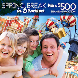 Enter our Spring Break Sweepstakes for a chance to win $500