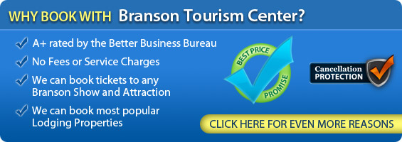 Why Book with Branson Tourism Center?