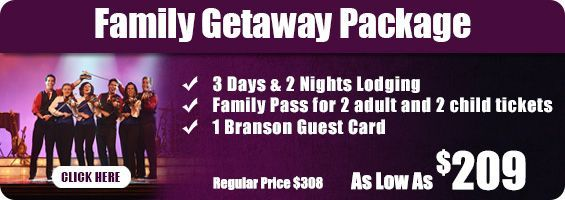 Family Getaway Package!