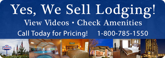 We sell lodging!