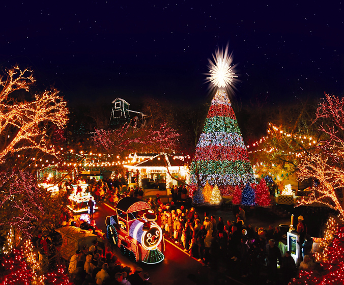 ozark mountain christmas planning in july