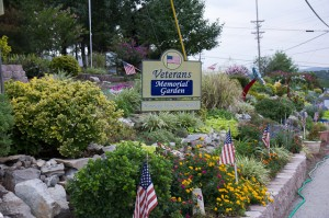 Veteran's Memorial Garden, located at the junction of Roark Road and Hwy. 76, provides  a special  welcome those attending Branson's Veterans Home Coming Week.