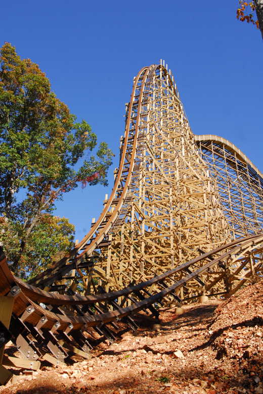 World Record Breaking Wooden Roller Coaster Brings Fresh Branson