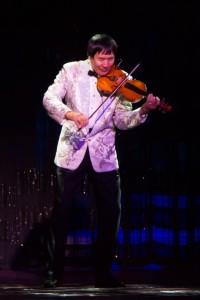 "Shjoi Tabuchi performing ""How Great Thou Art."""
