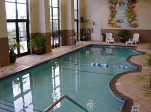 Grand Plaza's indoor pool.