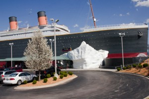 The Titanic Museum Attraction pictured amid the beauty of spring which can't come soon enough this year.