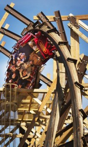 """Silver Dollar City's record setting wooden coaster """"Outlaw Run"""" is just one of the many exciting and fun things  awaiting Branson visitors."""