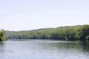 One of Lake Taneycomo's scenic vistas.