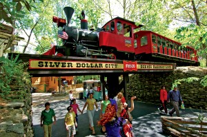 Silver Dollar City is Branson's most popular paid attraction.
