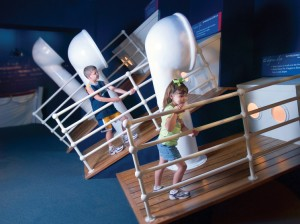 Find out if you could walk on the decks of the Titanic as she tilted upward prior to sinking?