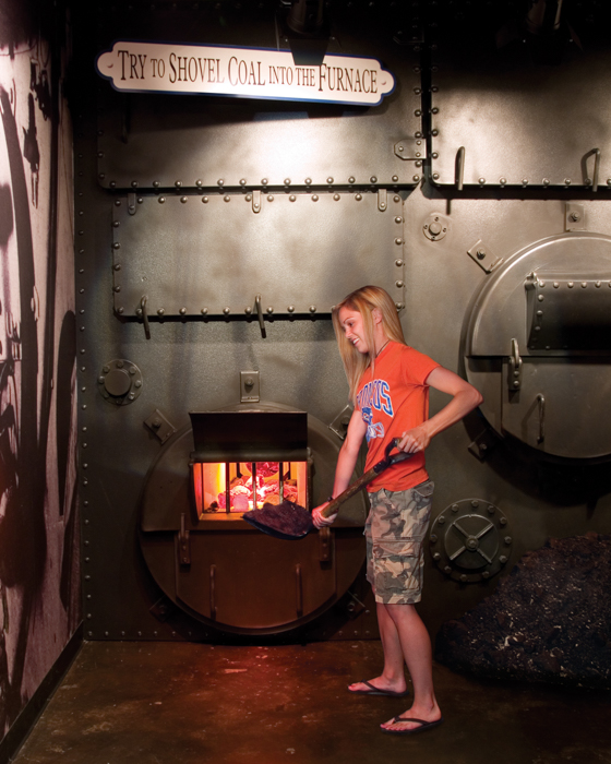 """Titanic Engine Room Coal: 13 Things """"kids"""" Should Know About The Branson Titanic"""