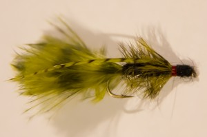 "The ""CQ"" Streamer is a great fly to use on Lake Taneycomo Trout."