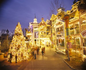 Some of the over 5 million Christmas Lights at Silver Dollar City's Old Time Christmas.