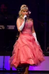 """Lori Kelley performing """"Stupid Cupid."""""""