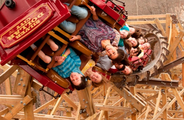 "Silver Dollar City's record setting wooden coaster ,""Outlaw Run,"" is one example of the fun and excitement Branson offers."