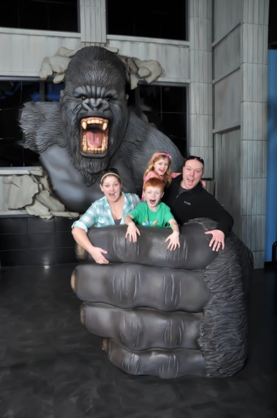 King Kong presents an excellent photo opportunity.