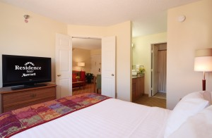 One of the Inn's one bedroom suites.
