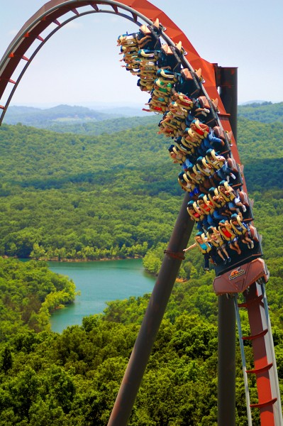 "Like Branson itself, Silver Dollar City's iconic ""WidFire"" coaster takes its riders to lofty heights of adventure and excitement even as gas prices slide lower."