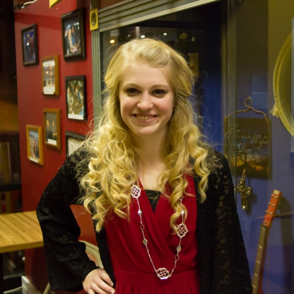 Member of the Petersen's Family Bluegrass Band and top 48 contestant on American Idol ,Ellen Petersen .