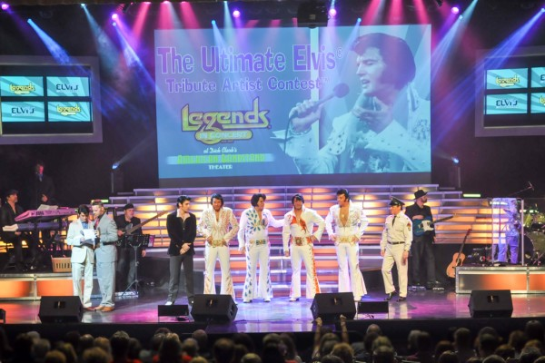 "Finalists gather at 2014 ""Branson Ultimate Elvis® Tribute Artist Contest."""