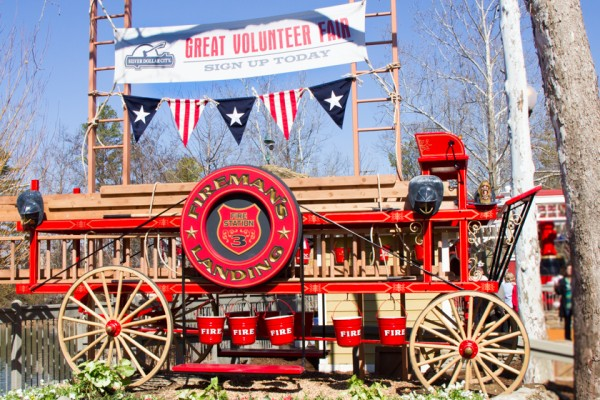 "Silver Dollar City's new $8 million ""Fireman's Landing"" has ten rides and attractions for the younger kids to enjoy."