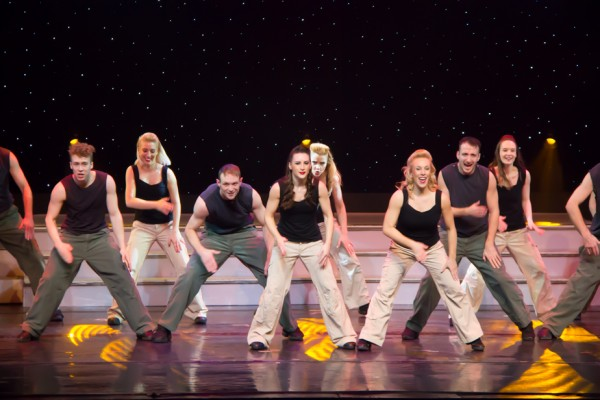 "The ""Stomp"" is just one of the many styles of dance in the show."