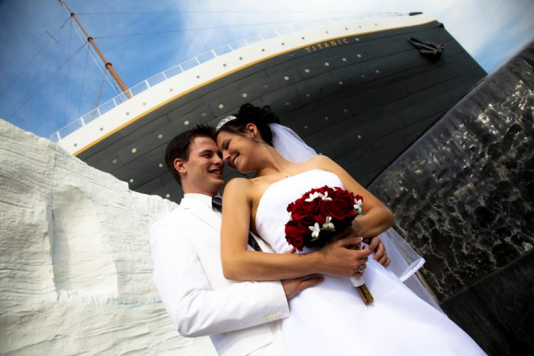 The romance, elegance and mystique of  the Titanic provide a unique wedding venue.