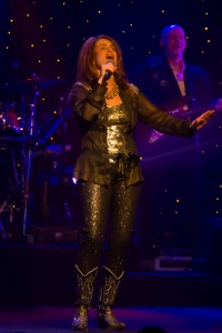 """The lovely Jackie Brown, performing """"Cry."""""""
