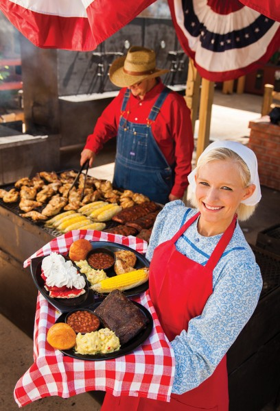 """There will be plenty of mouth watering BBQ and the """"fixins."""""""