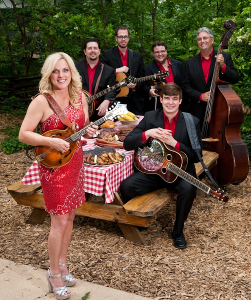 """Seven time IBMA Female vocalist of the year, Rhonda Vincent  and her award winning band  """"The Rage"""" are just one of 40 groups performing thoughout Silver Dollar City's """"Bluegrass & BBQ."""""""
