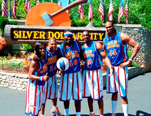 "World famous Harlem Globetrotters featured at Silver Dollar City's ""Star Spangled Summer Festival"""