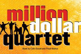 """Branson's newest show, the """"Million Dollar Quartet,"""" premiers on June 25."""