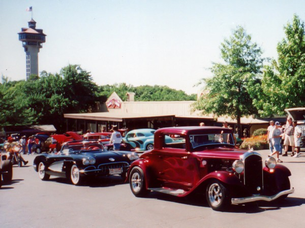 """Just a sample of the vintage cars that will be on display during the """"Show and Shine"""" and in the Midnight Cruise."""""""