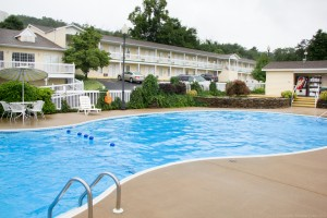 One of the largest outdoor pools in Branson.
