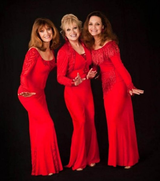 The 2015 Lennon Sisters Kathy left, Janet, and Mimi