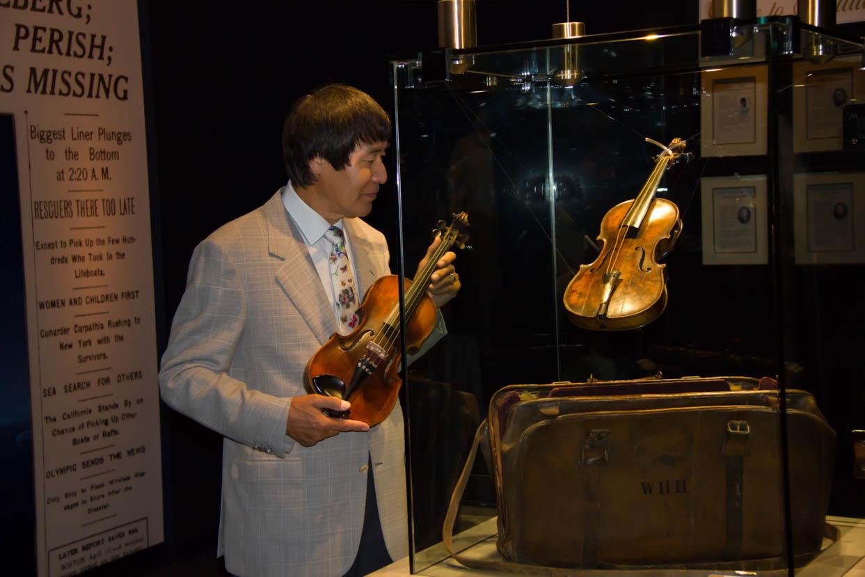 $1 7 million Titanic Violin ignites a spectacular Titanic 10th