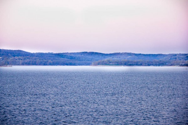 Early post-dawn shot of a small portion of Table Rock Lake.
