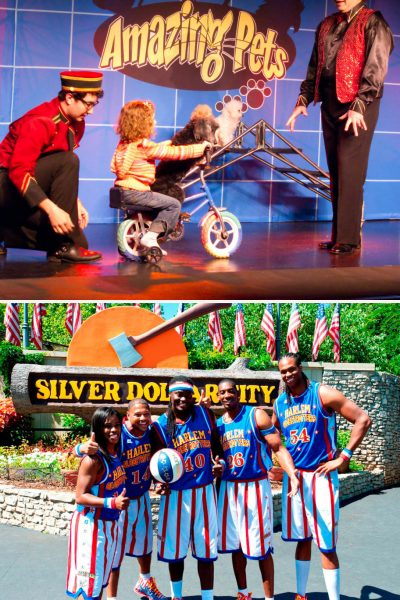 """The """"Amazing Pets Show"""" and """"Silver Dollar City's Star Spangled Summer Festival,"""" featuring the return of The Harlem Globetrotters, celebrating their 90th Anniversary, are two of the Branson Tourism Center's featured events for June."""