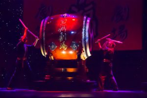 "The the giant Japanese ""Odaiko,"" drum."
