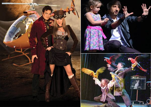 They add the magic to some of Branson's most popular magic shows, Rick and Tara Thomas, Reza,and Dave and Denise Hamner.