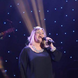 "Kari Garrison performing ""Landslide."""