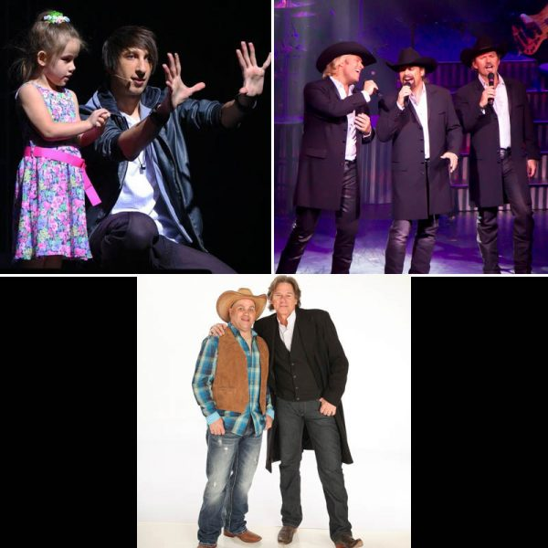 Reza Edge of Illusion, The Texas Tenors, and Billy Dean in Concert with Jarrett.