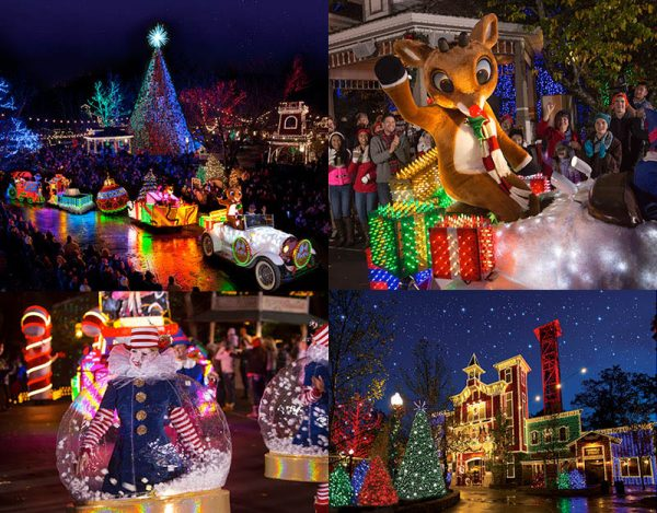 "Silver Dollar City's Old Time Christmas is a beautiful ""centerpiece"" of Ozark Mountain Christmas.**"