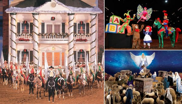A few scenes from Christmas At Dixie Stampede.*