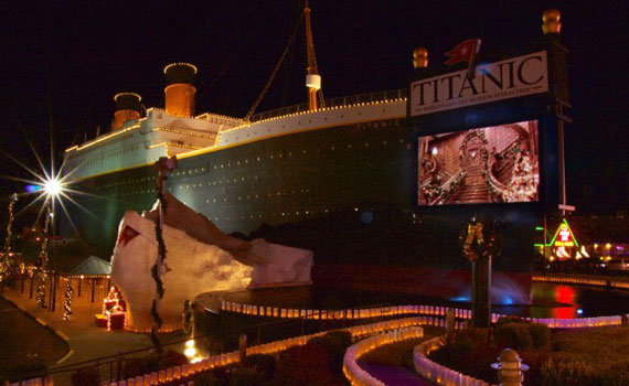 "The Titanic Museum's ""Christmas and Winter Celebration"" is just one of the many inspirational and entertaining events in Branson during December."