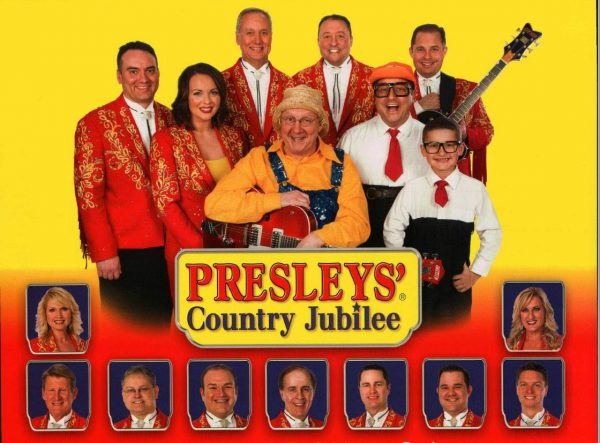 The last 2016 performance of the  first show on the Branson Strip, Presleys' Country Jubilee, is Dec.  27.