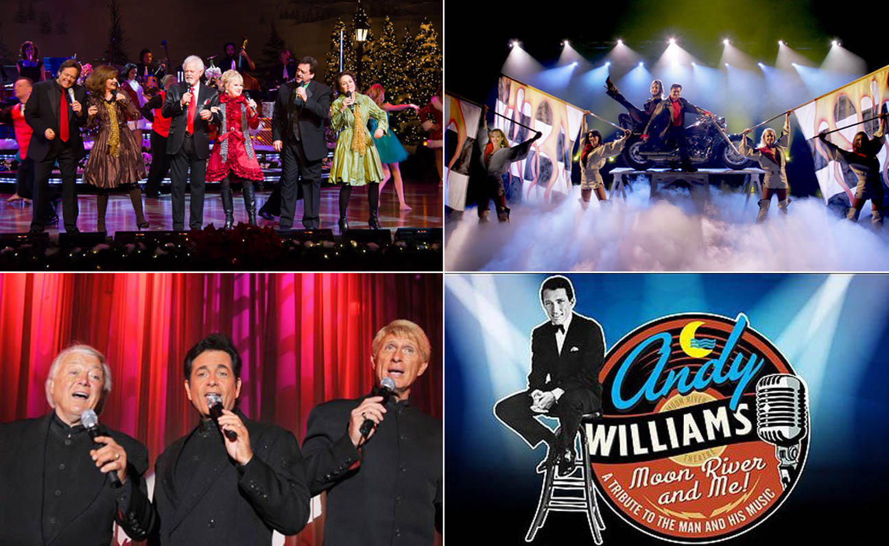the osmonds and lennon sister from the andy williams christmas extravaganza illusionist rick thomas the lettermen and moon river and me - Andy Williams Christmas Show
