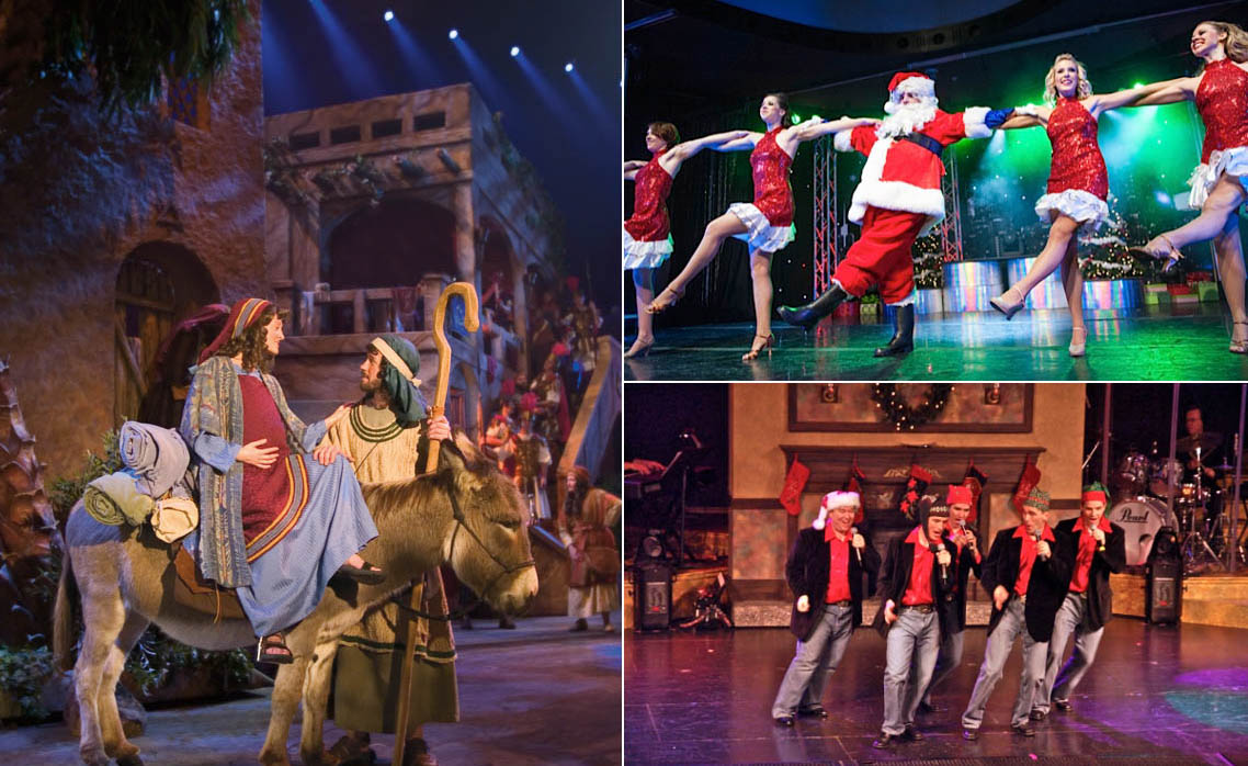 Christmas Shows.Ozark Mountain Christmas Aglitter With Branson Shows The